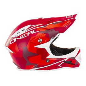 ONeal Warp Fidlock Pyöräilykypärä Edgy Camo , punainen